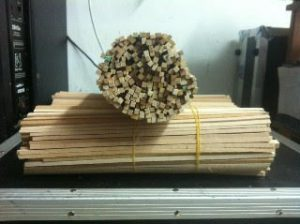 5000 מקלות למכונת סוכר